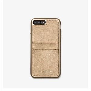 Micheal Kors Gold Case for iPhone 7/8 Plus